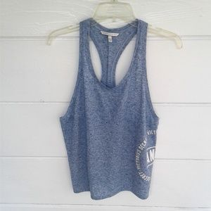 Victoria's Secret Blue Tank Top Racer Back Yoga S